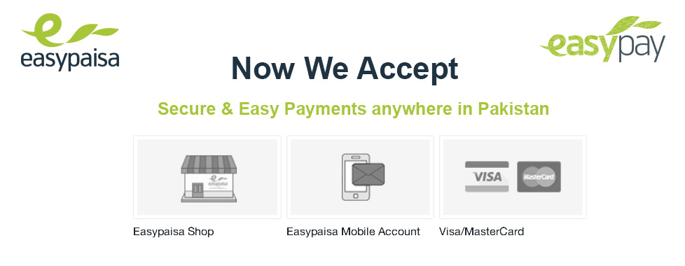 Secure and easy Pay anywhere in Pakistan