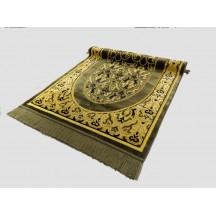 Muslim Preyer Mat & Olive Green prayer Mat With Golden Design